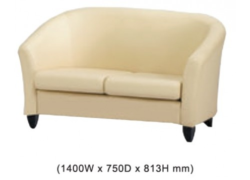 KI-34AS-2 -: Double settee sofa