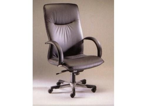 KI-01LB-BOSS - Leather Boss Director Highback Chair