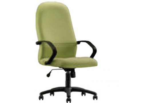 KI-260HB -Highback fabric armchair with recliner function and lumbar Support