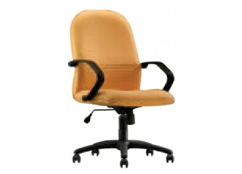 KI-261MB -Medback fabric armchair with recliner function and lumbar Support