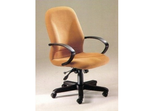 KI-660MB-Medback fabric armchair with recliner function and lumbar Support