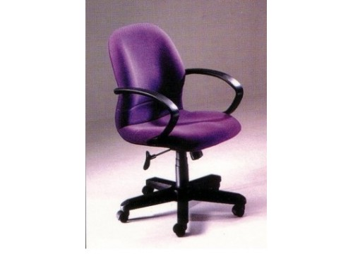 KI-670LB Lowback fabric armchair with recliner function and lumbar Support
