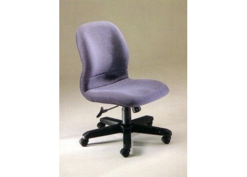 KI-671LB-NA -Lowback fabric chair without armrest and lumbar Support