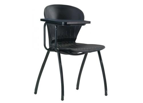 KI-3023A-T(TC)-4 Leggel polyproplene chair with one side writing borad