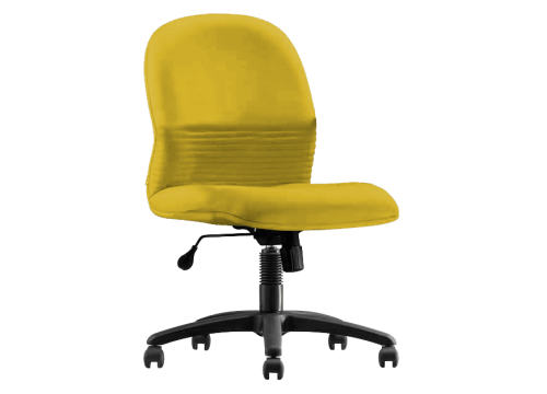 """KI-262LB-NA Lowback fabric chair """"without"""" armrest and lumbar Support"""