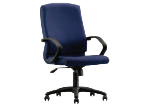KI-241MB Medback fabric armchair with recliner function and lumbar Support