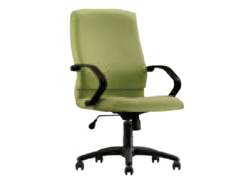 KI-242LB -Lowback fabric armchair with recliner function and lumbar Support