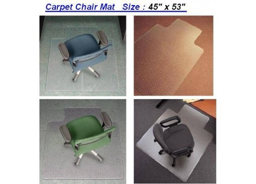 Chair Mat with Spikes for Carpeted Floors  or Hard Floor