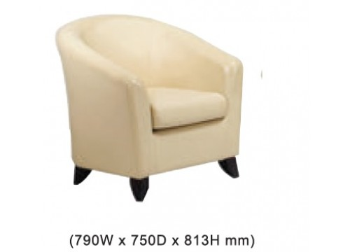 KI-34AS-1 -Single settee sofa