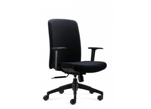 KI-060D-LB -Lowback FabricChair with adjustable armrest