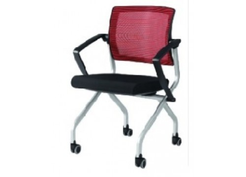 KI -542ARM - Mesh backrest ,Folding Chair with Armrest