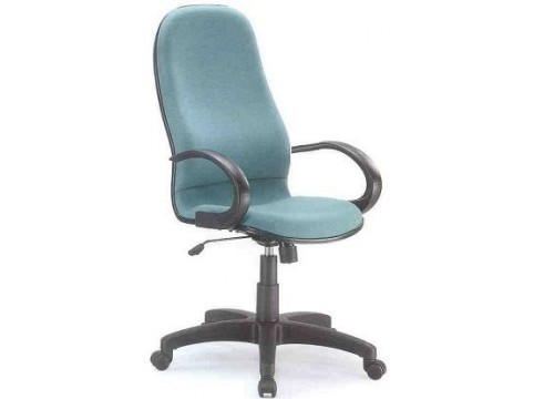 KI-2902HB -Highback fabric armchair with recliner function and lumbar Support