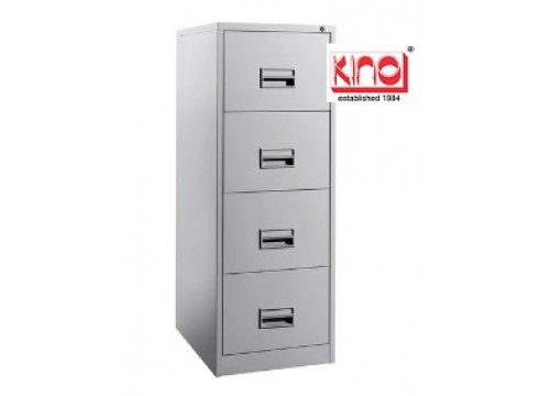 KI-106A - Steel 4 drawers filing cabinet.