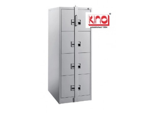KI-106A(LB) - Steel 4 drawers filing cabinet c/w locking bar ( exclude locking bar lock)