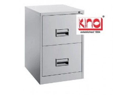 KI-106C - Steel 2 drawers filing cabinet