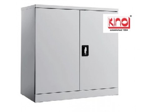 KI-112 -Steel half height swingdoor c/w 1 shelf & key lock.