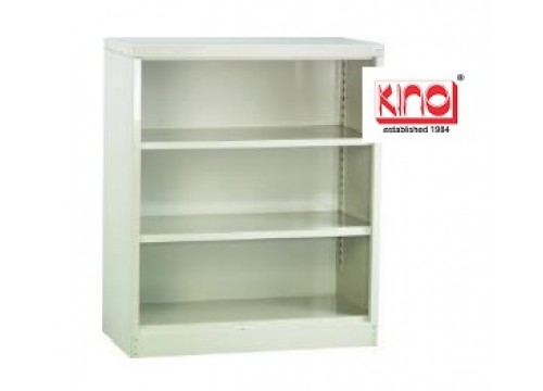 KI- 112W  -2 -Steel half height openshelf c/w 2 shelf