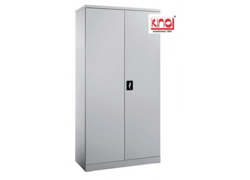 KI- 118 - Steel Full Height Swingdoor c/w 3 shelves & keylock.  Dimensions: 915W x 457D x 1828H