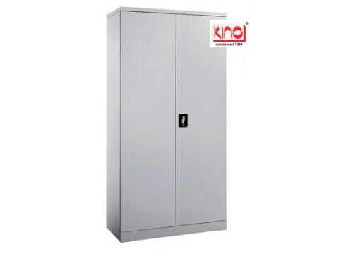 KI- 118 - Steel Full Height Swingdoor c/w 3 shelves & keylock.  Dimensions:915W x 457D x 1828H