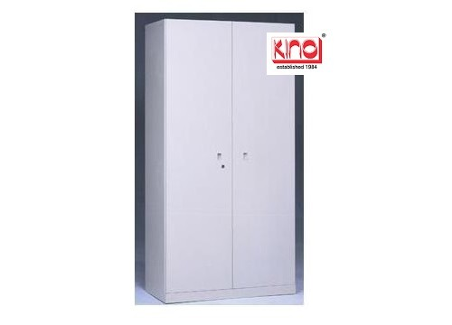 KI- TWJS210- Steel Full Height Swingdoor c/w 4 shelves & keylock. 2100H
