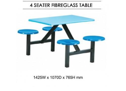 KI-144 FibreGlass Canteen Table