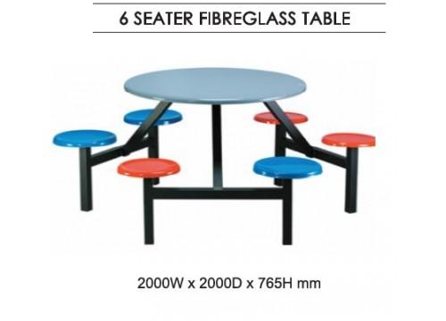 FibreGlass Canteen Table KI-145