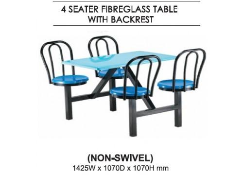 FibreGlass Canteen Table KI-147