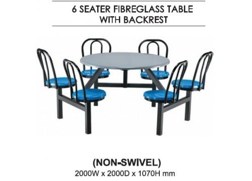 FibreGlass Canteen Table-  KI-148