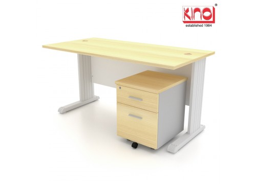 Desk with Mobile Drawers 2D  - Size : 1200W or 1500W