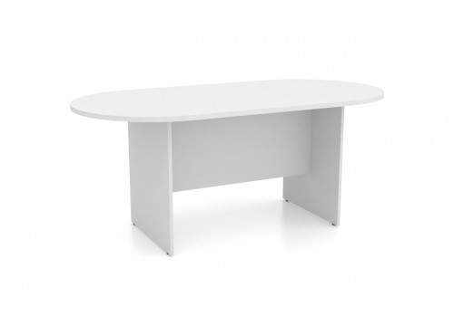 Oval shape Conference Table Size : 1800W x 900D x 750H