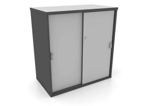 Cabinet - Low Sliding-Door Cabinet c/w lock