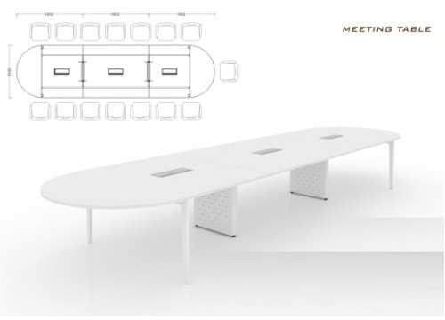 CONFERENCE TABLE - KI-Z-CLEG -HROUND