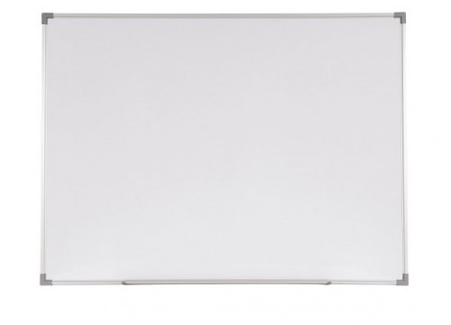 Magnetic White Board c/w Aluminium frame and Tray