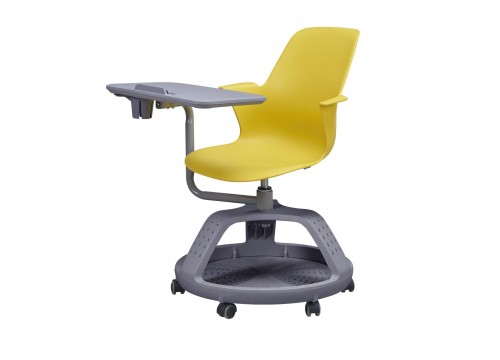 Study chair / Classroom Student chair with bottom shelf/Tray and writing board