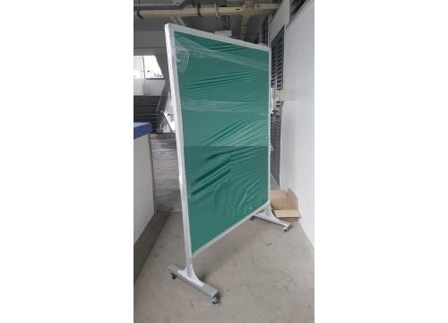 Divider Panel c/w Castor Wheel - Felt Upholster