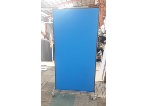 Divider Panel Partition With Stand & Castor Wheel