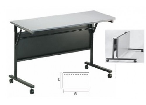 Folding Table with Castor Wheel